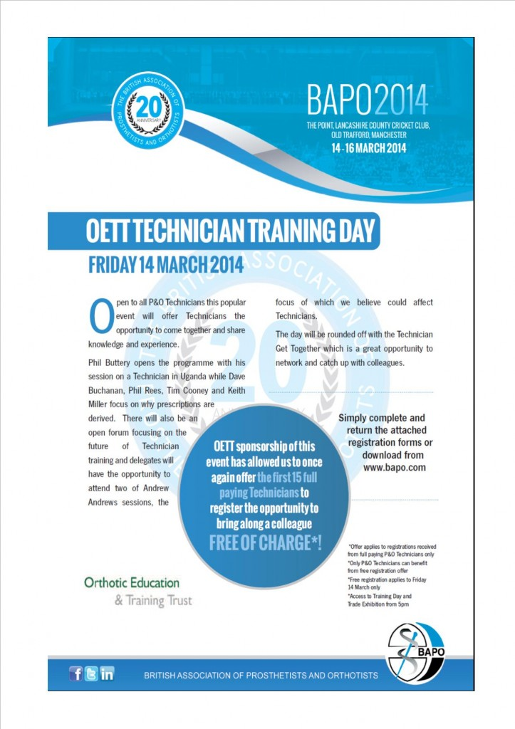 OETT_Technician_Training_Day_2014
