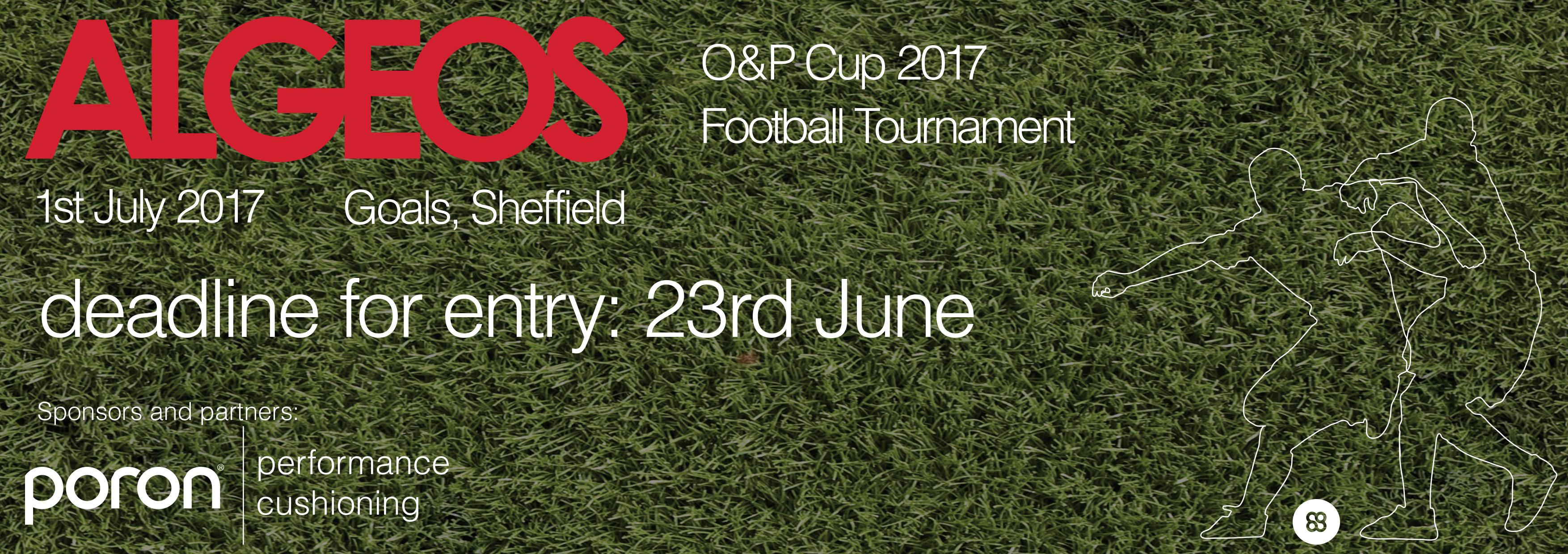2ccfc3218 The Algeos O&P Cup 2017 Football Tournament
